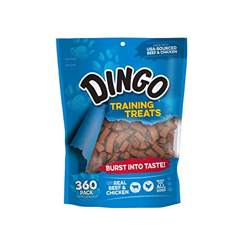 Dingo Soft & Chewy Beef/Chicken Training Treats, 360-Count