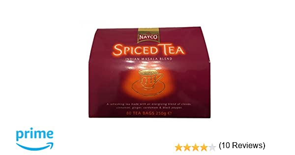 Natco Spiced Tea Indian Masala Blend - 250 gr