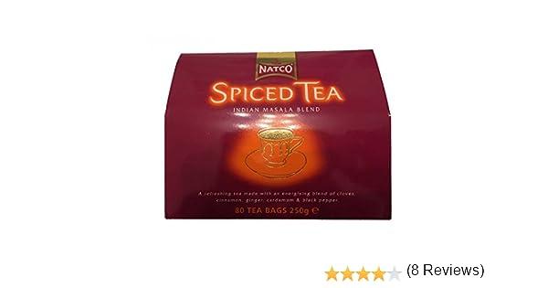 Natco Spiced Tea Indian Masala Blend - 250 gr: Amazon.es: Alimentación y bebidas