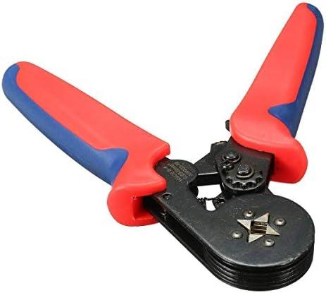 プライヤーツールプライヤーハンドツール、8 6-4A0.25-6mm²23-10フェルールクリンパープライヤー自動調整ラチェット
