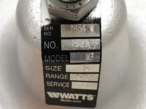 Watts 1/2 152A 3-15 Steam Pressure Regulator, 3-15Psi, 1/2NPT by Watts (Image #2)