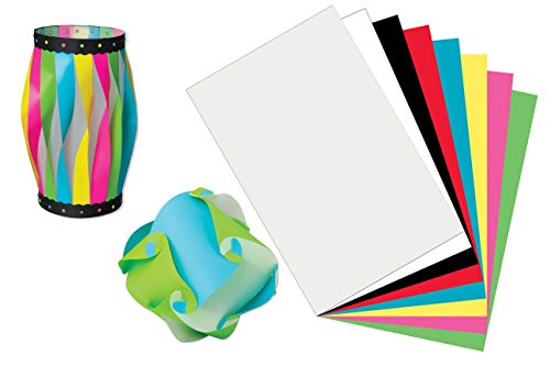 Plastic Art Sheets, Polyethylene Craft Sheets, 8-Pack - Durable, Flexible and Versatile 3-D Art, Great for Drawing, Painting, Marbling, Collages and Monoprints - 11 x 17
