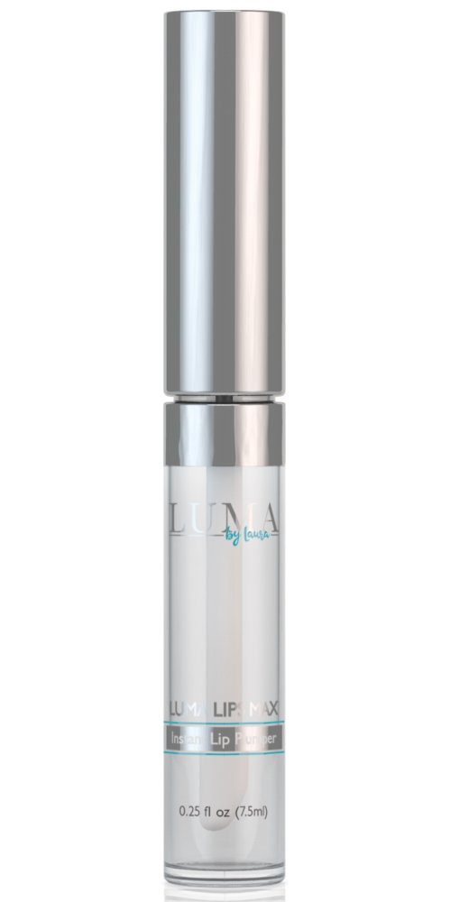 LumaLips MAX - 100% Natural Instant Lip Plumper With Fast Acting Peptides & Hyaluronic Synthesis - Moisturizing Serum Complex for Healthy, Plump Lips