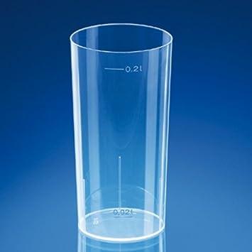 Glas Tube Splitterfrei - 200 Ml Transparent Pp Units-Pack: 500
