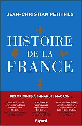 Amazon Fr Histoire De La France Jean Christian Petitfils