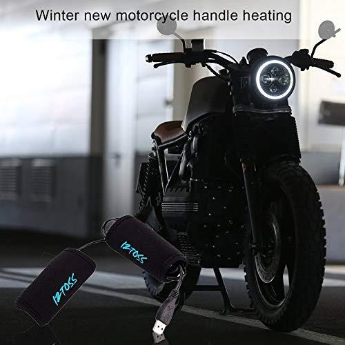 Furobayuusaku Winter New Motorcycle Handle Heating Arrival Universal Motorcycle Handle Bar Warmer Heated Grip Keep Hand Warm Winter HOT