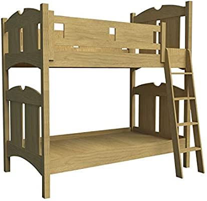 Wooden Bunk Bed W Ladder Plans Diy Bedroom Furniture Woodworking Build Your Own Buy Online At Best Price In Uae Amazon Ae