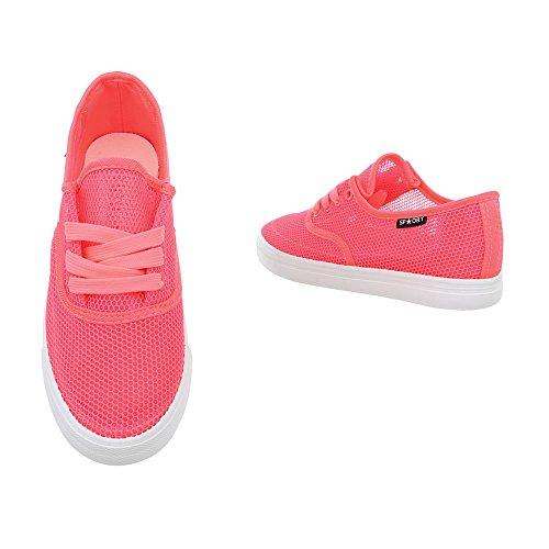 Design da Rot Sneakers Piatto Sneaker Ital Scarpe Low Donna HTUwdqEC