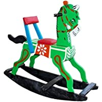 Multi Color Wooden Rocking Horses