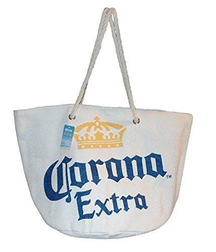 Price comparison product image Corona Extra Large Toya Straw Beach Bag (WHITE)