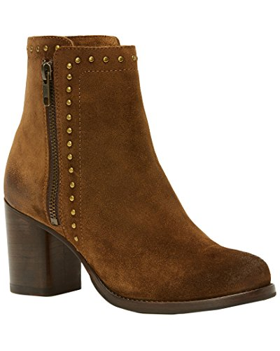 Stud Double Soft Zip Oiled 5 Suede US 7 Addie Chestnut B Women's FRYE 4EBwTOqna