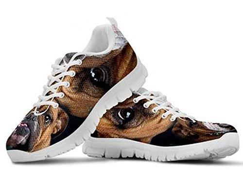 Sneakers 8 Dog 5 Men's Cute Casual Print Bulldog Brand wqYTnZRq