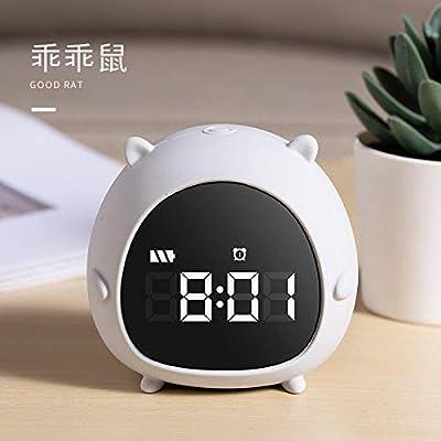 despertadores Digitales Mesita de Noche Reloj Despertador led ...