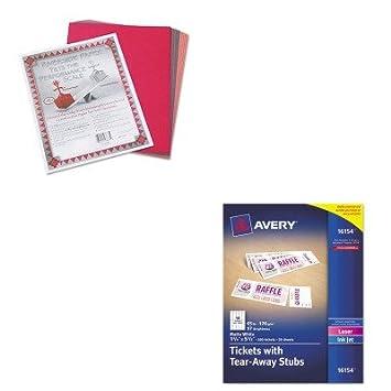 amazon com kitave16154pac103637 value kit avery printable