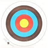 Archery Target Faces 80cm - (Quantity 10)