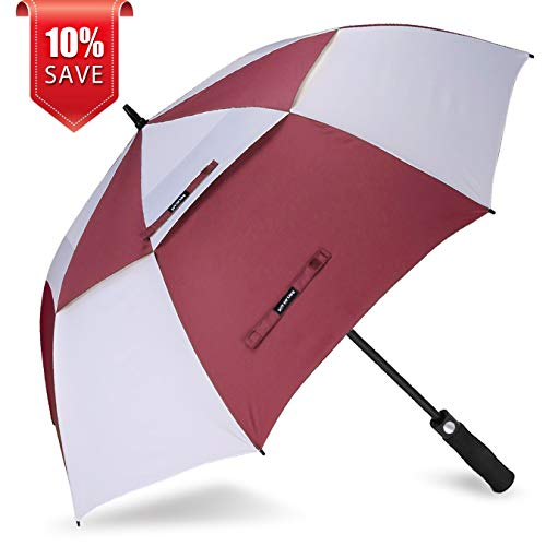 ZOMAKE Golf Umbrella Windproof Large 68 inch Double Canopy Automatic