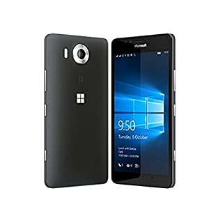 Microsoft Lumia 950 32GB Dual Sim NAM RM-1118 GSM Factory Unlocked - US Warranty (Black)