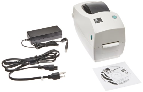 Zebra TLP 2824 Plus Monochrome Desktop Thermal Printer with Serial and USB Ports, 4 in/s Print Speed, 203 dpi Print Resolution, 2.20'' Print Width, 100-240V AC by Zebra (Image #2)