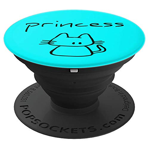 Princess the cat, funny gift with my cats name on a - PopSockets Grip and Stand for Phones and Tablets