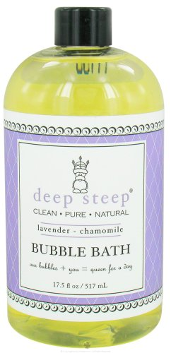 Deep Steep Organic Bath Lavender Bubble camomille 17,5 oz/517ml