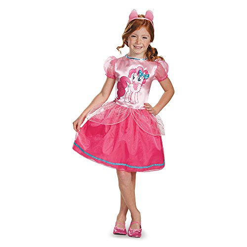 My Little Pony Pinkie Pie Costume (Pinkie Pie Classic Costume, Small (4-6x))
