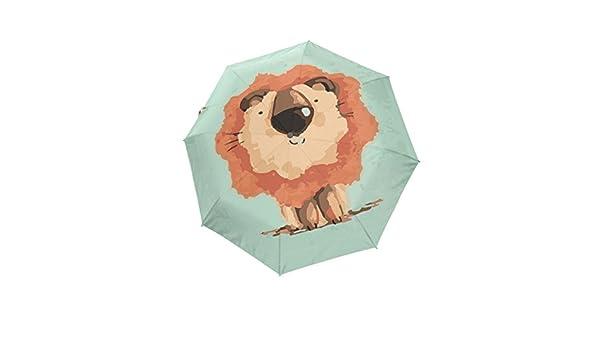 Windproof Travel Umbrella Watercolor Sailor Moon Compact Folding Umbrella Automatic Open//Close