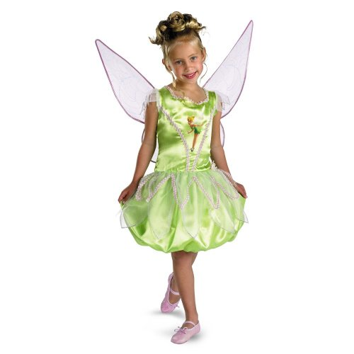 Disney's Fairies Tinkerbell Deluxe - Size: Child M(7 - 8)