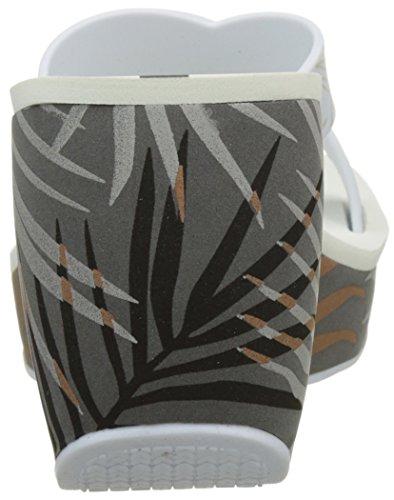 Ipanema Lipstick Straps Iii Fem, Sandalias con Plataforma para Mujer Gris (Grey/White)