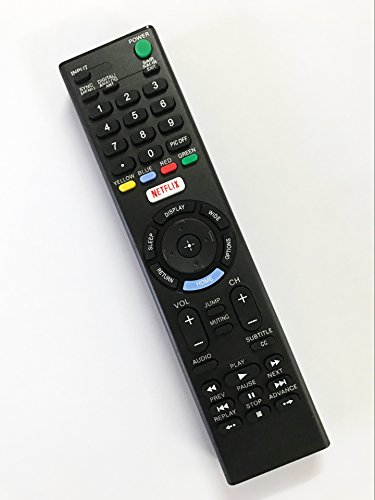 Replacement Remote Controller use for Sony KDL-32W600D XBR-65X750D KDL-50W800C LED HDTV Smart TV