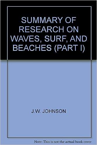 Livres audio téléchargeables gratuitement en ligne SUMMARY OF RESEARCH ON WAVES, SURF, AND BEACHES (PART I) DJVU B008FDG6CA
