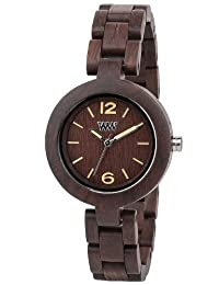 WeWood Mimosa Chocolate Wooden Watch by WeWood