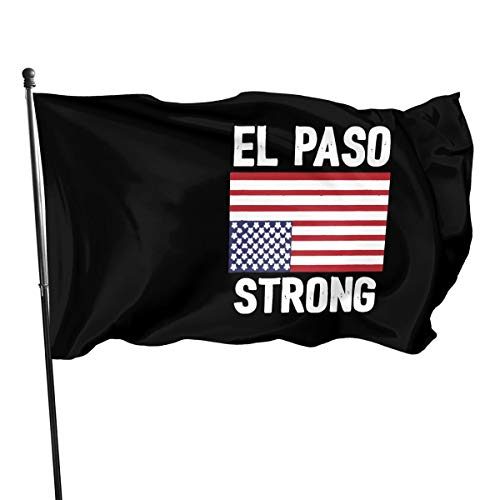 ZHANGPEIENfaqi El Paso Strong Upside Down American Flag Flag 3' X 5' Ft Outdoor Flags Banner Breeze Flag (American Flag Upside Down House Of Cards)