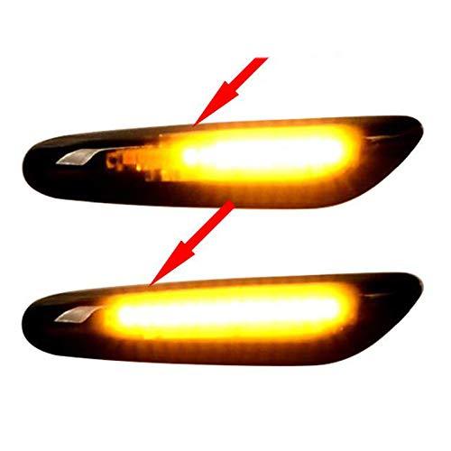 Basage Running Smoke Led Side Indicator Turn Signal for E90 E91 E92 E60 E87 E82 E46