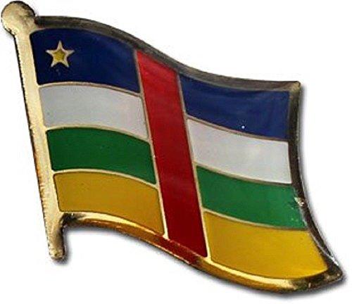 Central African Republic Country Flag Bike Motorcycle Hat Cap lapel (Republic Flag Lapel Pin)