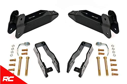 - Rough Country Control Arm Drop Relocation Kit (fits) 2003-2013 RAM Truck 2500 3500 4WD 342 Control Arm Drop Kit