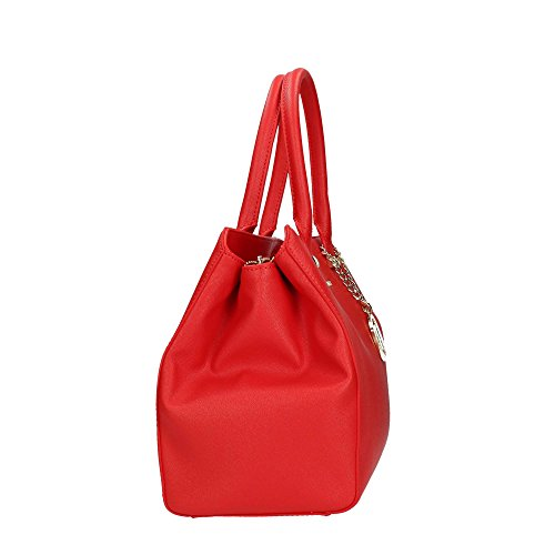 Trussardi Jeans Damen Levanto Tote, 37x27x19 cm Red