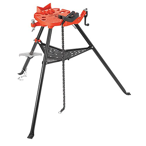 RIDGID 36278 Model 460-12 Portable TRISTAND Chain Vise, 1/8-inch to 12-inch Pipe Vise by Ridgid