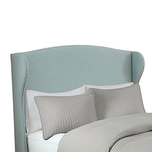 Madison Park Kaden Upholstery Headboard Light Blue Full ()