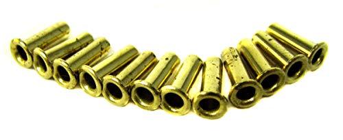 12pc. Long-Shank Brass Eyelets/Economy String Ferrules ()