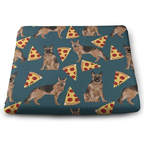 WASPA German Shepherd Pizza Seat Meditation Cushion with