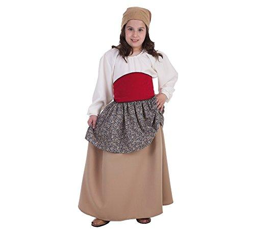 Disfraz de Campesina medieval para niña: Amazon.es: Juguetes y juegos