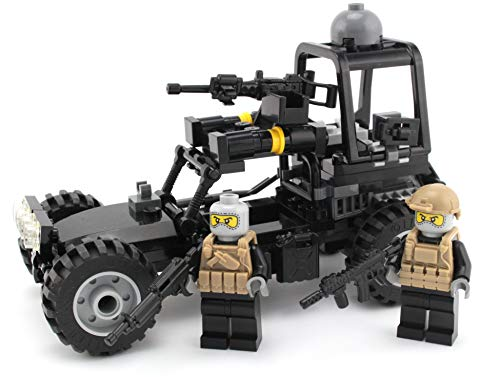 Battle Brick Navy Seal Desert Patrol Vehicle Custom Set