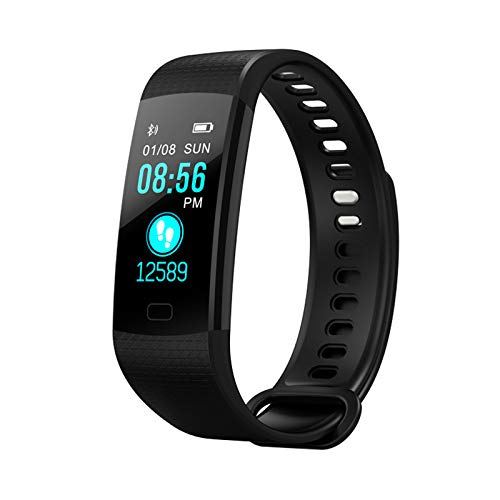 Fitness Tracker for iPhone 11 Pro Max, Activity Tracker with Heart Rate Smart Watch Sleep Monitor Pedometer Calorie Counter Waterproof Smart Watch Gifts for Kids Women Men