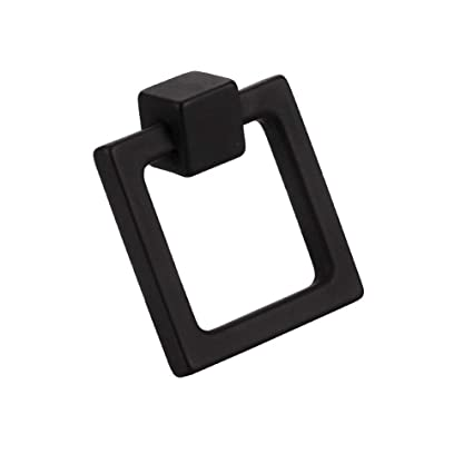Charmant MAYKKE Duane 1 13/16u0026quot; Fixed Square Ring Cabinet Pull Modern Furniture  Handle