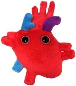 Giantmicrobes - Peluche Microbio gigante - Versión llavero Key Ring Corazón (Heart Organ): Amazon.es: Juguetes y juegos