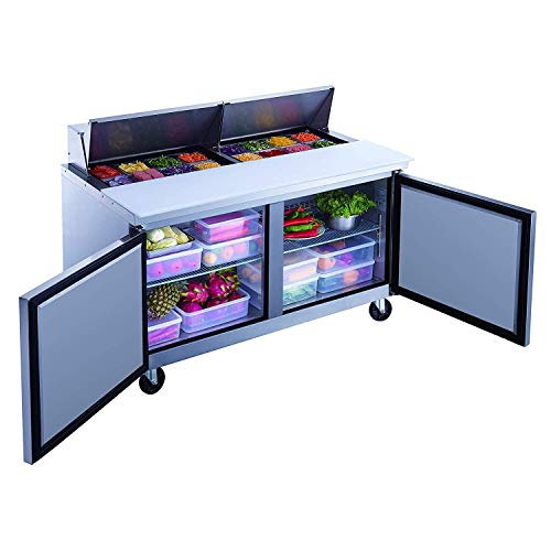 Dukers DSP60-16-S2 60'' Salad Prep Table