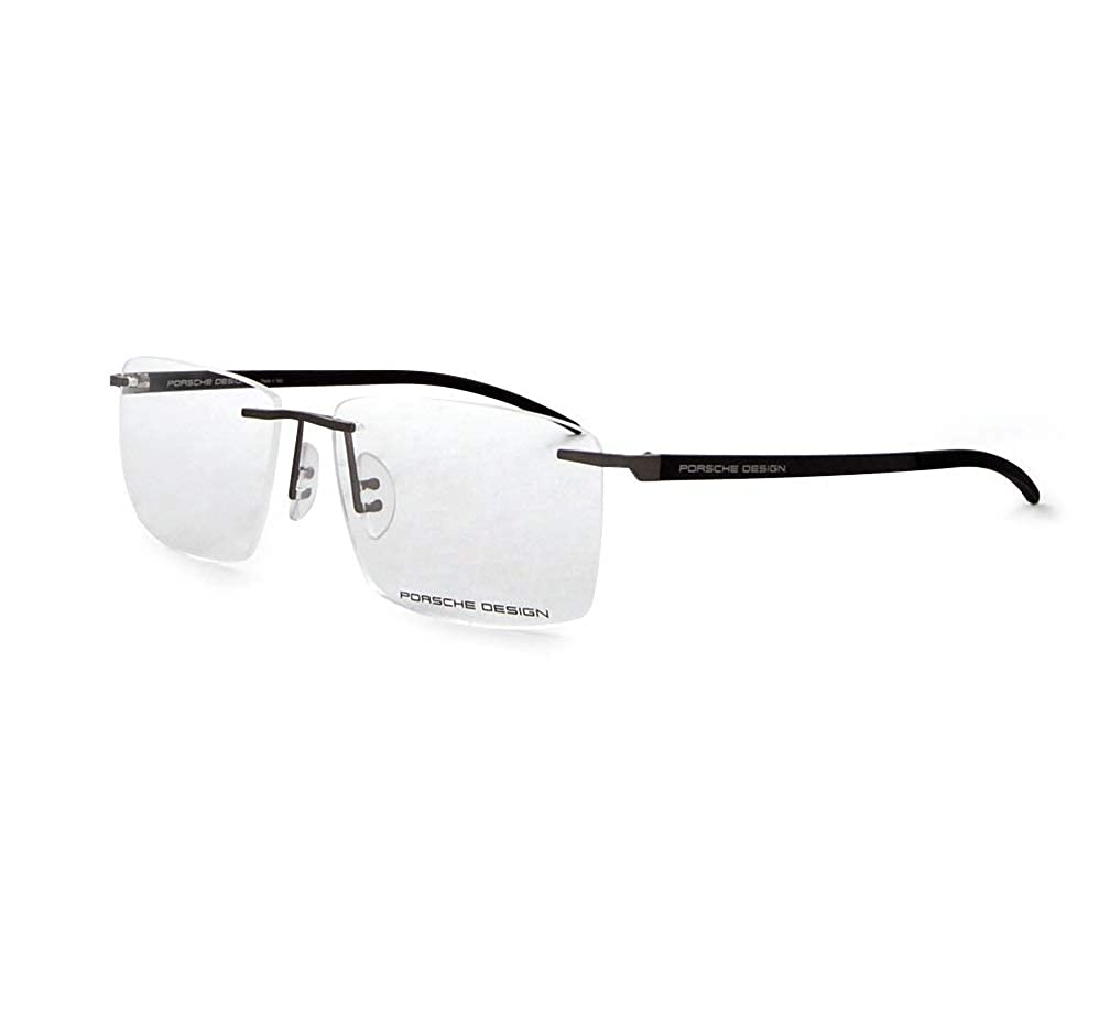 0284ed3e3ef Amazon.com  Porsche Design Eyeglasses P8341 S3 D Light Gun 54-15 - Men s   Clothing