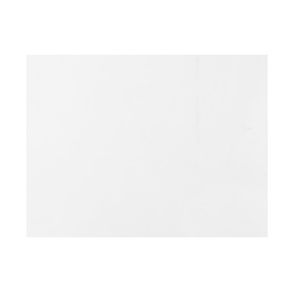 Kmise Z4924 Blank Acoustic Guitar Pickguard Plate with Adhesive Back White