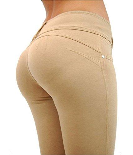 Elasticizzati Pantaloni Blu Jeans Donna Cachi Darrin Alta L Da E Aderenti A Vita dzqwI4