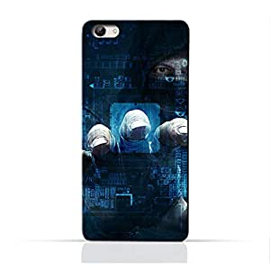 AMC Design Dangerous Hacker Printed Protective Case for Vivo X7 Plus - Blue